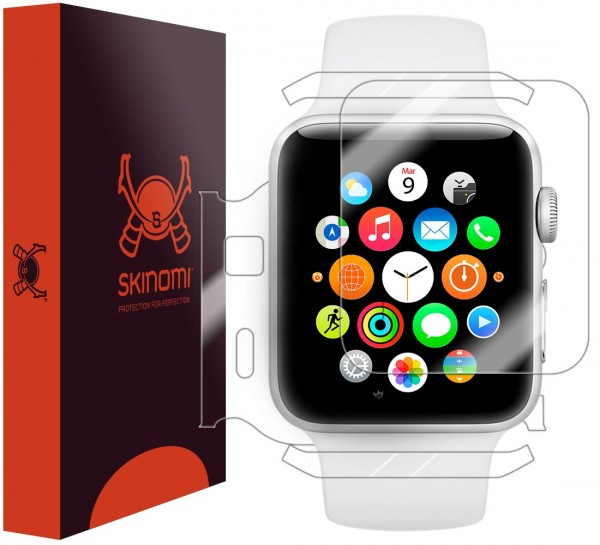 Skinomi - Screen Protector Apple Watch Series 2 (42 mm) Full Body