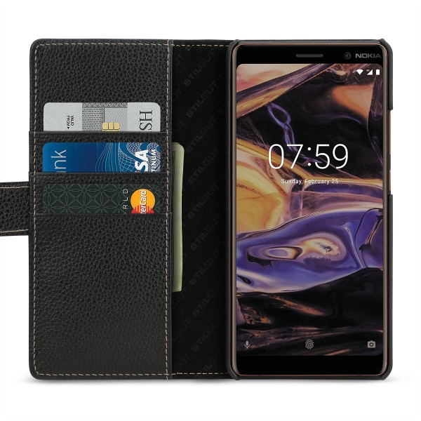 StilGut - Nokia 7 Plus Cover Talis with Card Holder