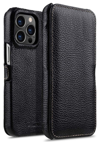 StilGut - iPhone 13 Pro Max Cover Book Type with Clip
