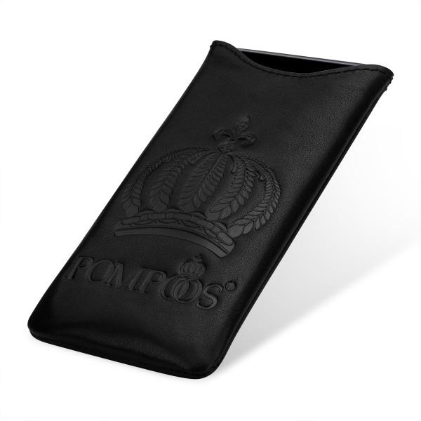 POMPÖÖS by StilGut - Smartphone Sleeve M Crown - Design by HARALD GLÖÖCKLER