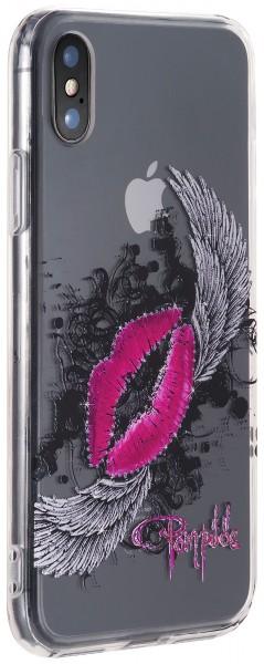 POMPÖÖS by StilGut - iPhone XS Cover Kiss - Design by HARALD GLÖÖCKLER