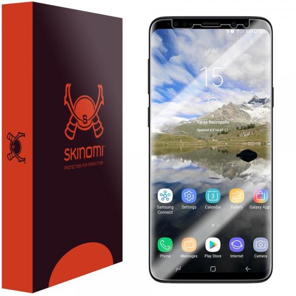 Skinomi - Samsung Galaxy S9+ Screen Protector TechSkin Maximum Coverage