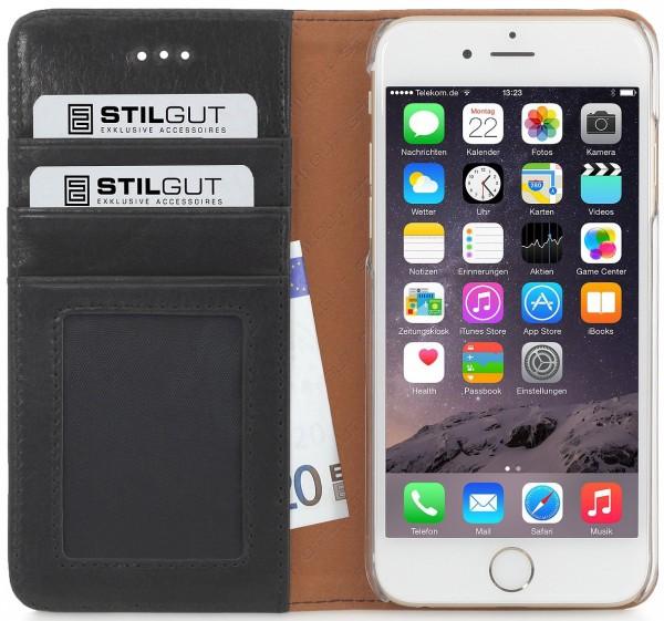 "StilGut - iPhone 6 leather case, Talis ""Italian collection"""