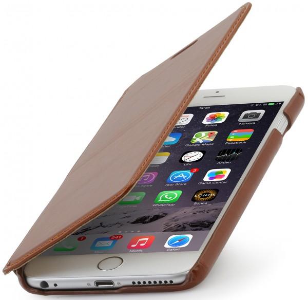 "StilGut - iPhone 6 Plus leather case ""Book Type"" without clip"