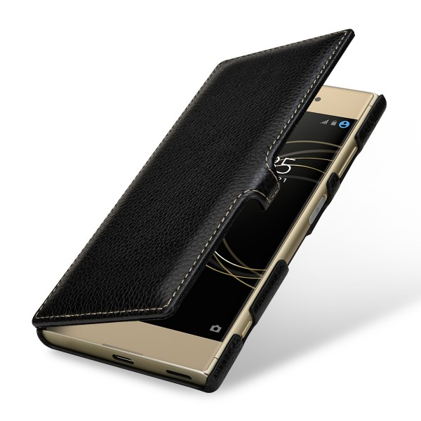 StilGut - Sony Xperia XA1 Plus Cover Book Type with Clip