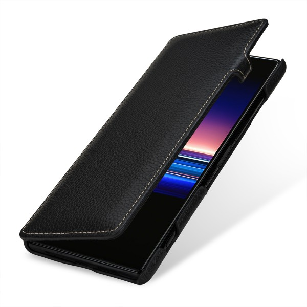 StilGut - Sony Xperia 1 Cover Book Type with Clip
