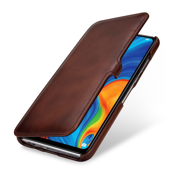 StilGut - Huawei P30 lite Cover Book Type with Clip