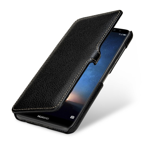 StilGut - Huawei Mate 10 lite Cover Book Type with Clip
