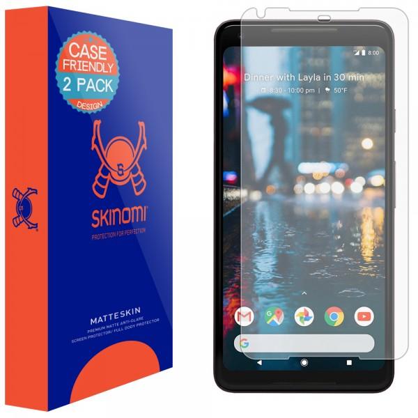 Skinomi - Google Pixel 2 XL Screen Protector MatteSkin (set of 2)