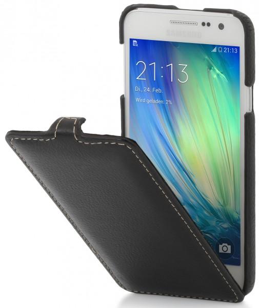 "StilGut - Galaxy A3 leather case ""UltraSlim"""