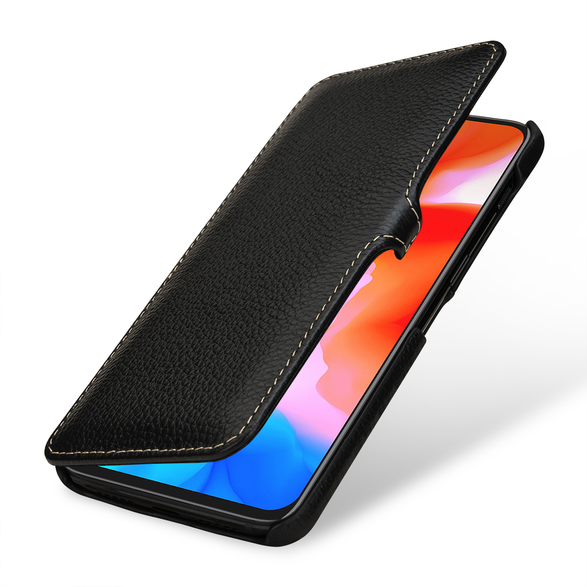 quality design 288bd bb25a StilGut - OnePlus 6T Cover Book Type with Clip