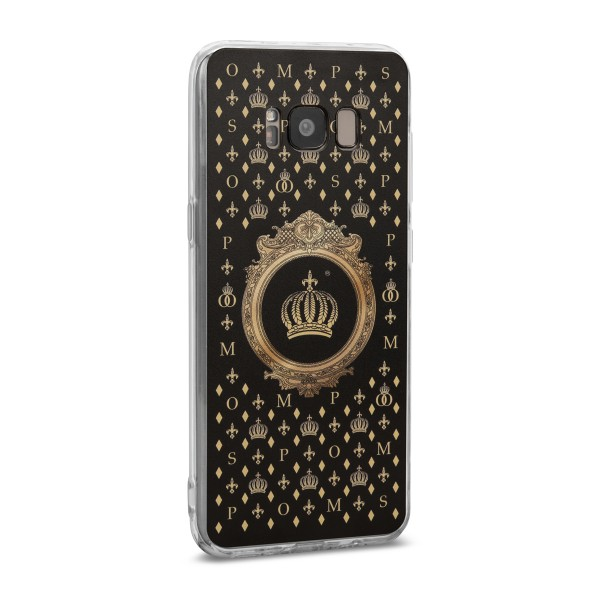 POMPÖÖS by StilGut - Samsung Galaxy S8 Cover Crown - Design by HARALD GLÖÖCKLER