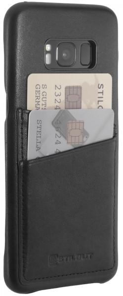 StilGut - Samsung Galaxy S8+ Cover Premium with Card Holder