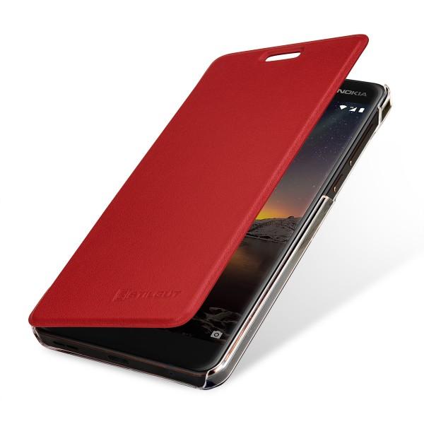 StilGut - Nokia 6.1 Book Type NFC/RFID Blocking Case