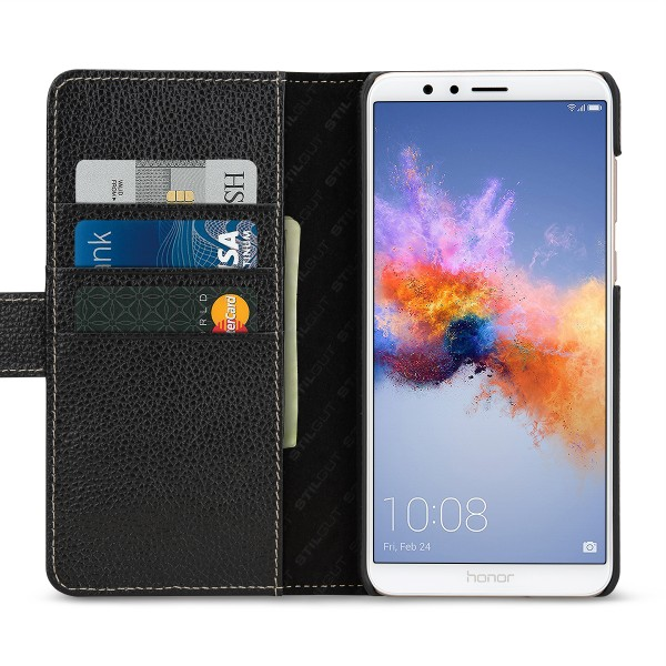 StilGut - Honor 7X Cover Talis with Card Holder