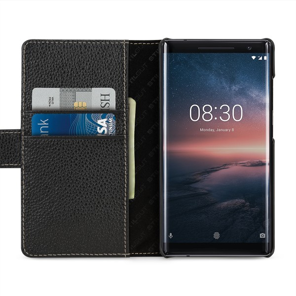 StilGut - Nokia 8 Sirocco Cover Talis with Card Holder