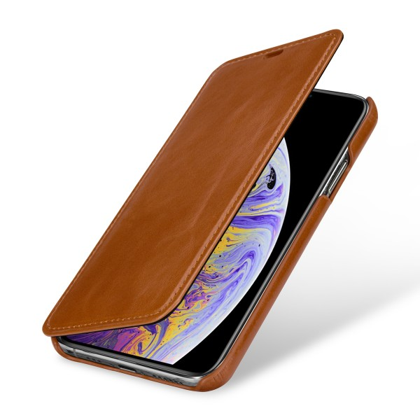 StilGut - iPhone XS Cover Book Type without Clip