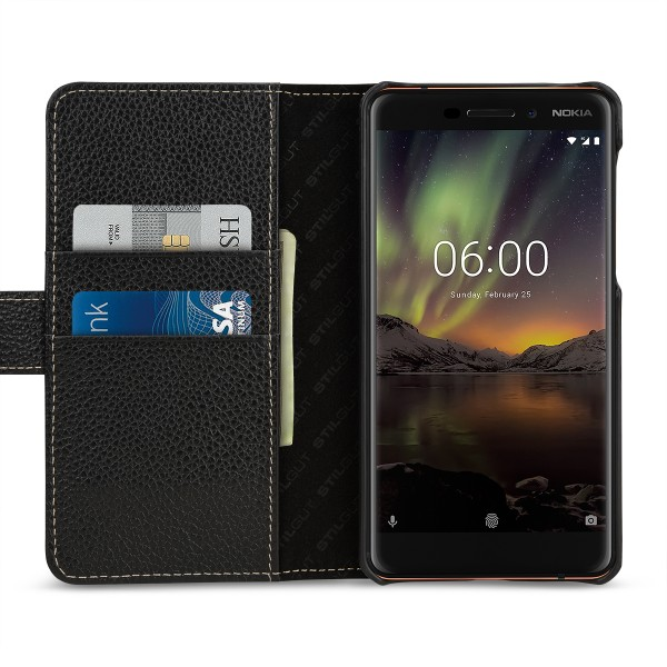 StilGut - Nokia 6.1 Cover Talis with Card Holder