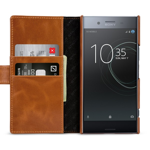 StilGut - Sony Xperia XZ Premium Cover Talis with Card Holder