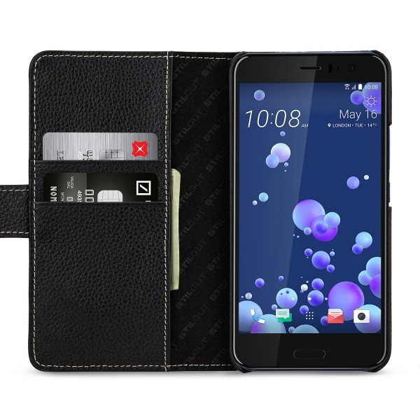 StilGut - HTC U 11 Cover Talis with Card Holder