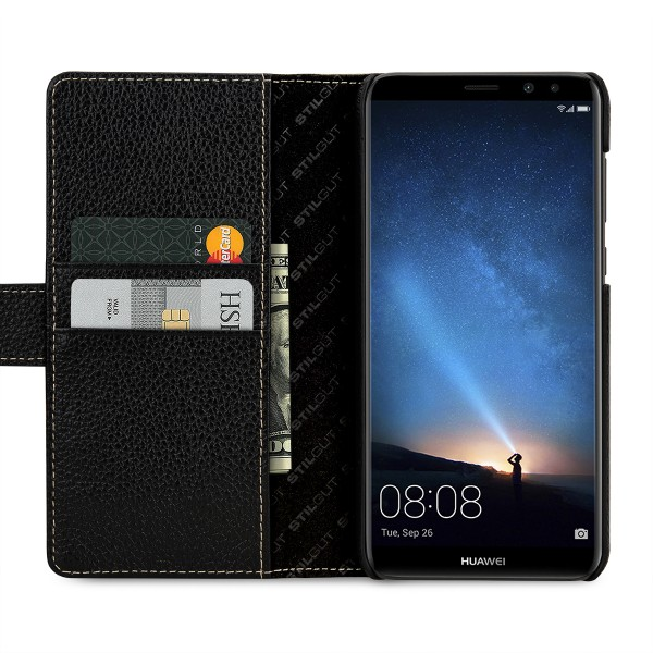 StilGut - Huawei Mate 10 lite Cover Talis with Card Holder