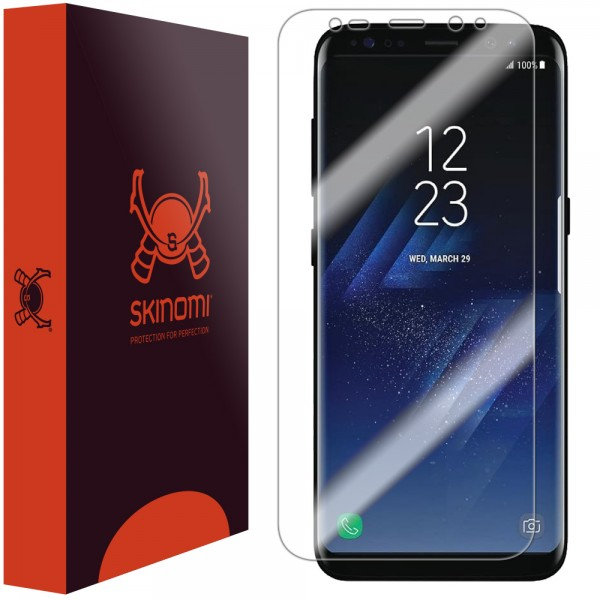 Skinomi - Samsung Galaxy S8+ Screen Protector TechSkin Maximum Coverage