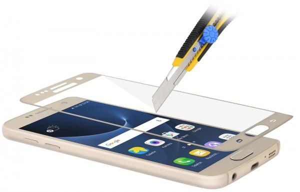 StilGut - Samsung Galaxy S7 Tempered Glass 3D curved (gold)