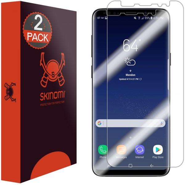 Skinomi - Samsung Galaxy S9 Screen Protector TechSkin Maximum Coverage