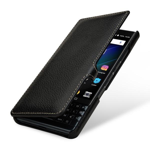 StilGut - BlackBerry KEY2 LE Cover Book Type with Clip