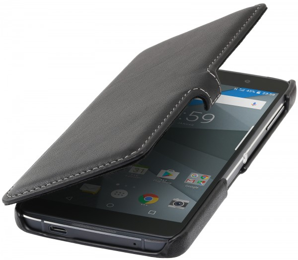 StilGut - BlackBerry DTEK50 cover Book Type with clip