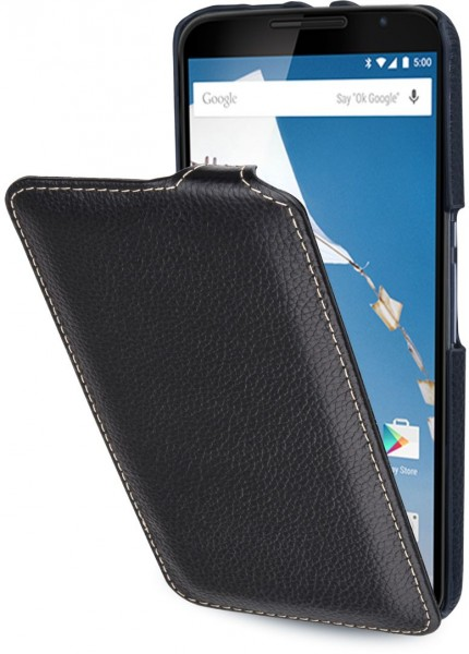"StilGut - Nexus 6 leather case ""UltraSlim"""