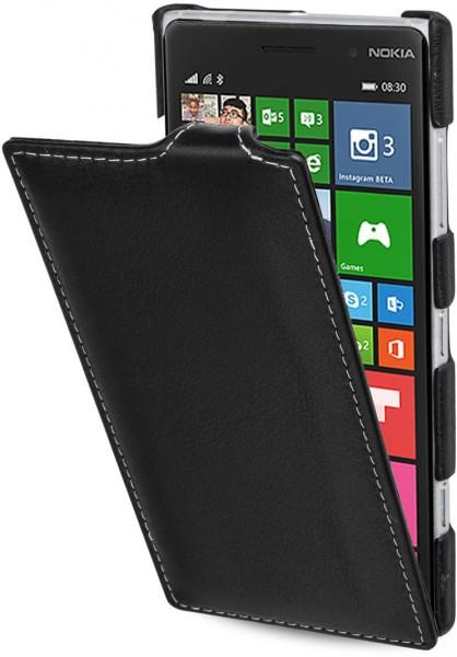 "StilGut - Nokia Lumia 830 leather case, ""UltraSlim"""