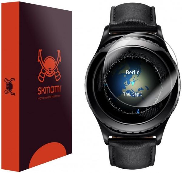 Skinomi - Samsung Gear S2 Classic screen protector TechSkin