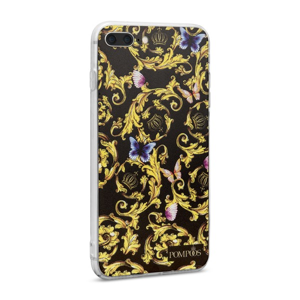 POMPÖÖS by StilGut - iPhone 8 Plus Cover Royal - Design by HARALD GLÖÖCKLER