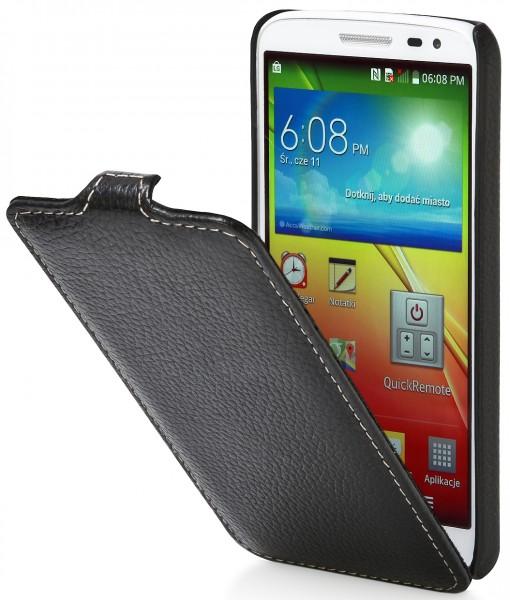 StilGut - UltraSlim case made from leather for LG G2 Mini