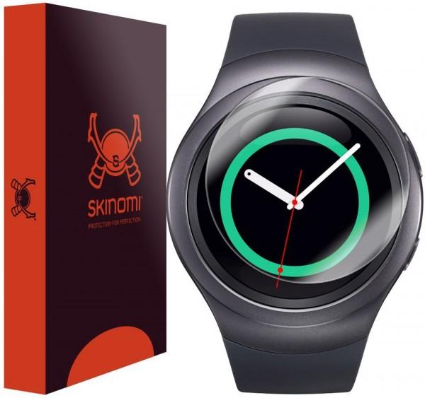 Skinomi - Galaxy Gear S2 screen protector TechSkin