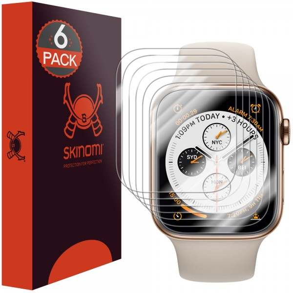 Skinomi - Apple Watch Series 5 (44 mm) Screen Protector Edge to Edge