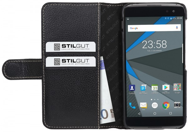 StilGut - BlackBerry DTEK60 Case Talis with Card Holder