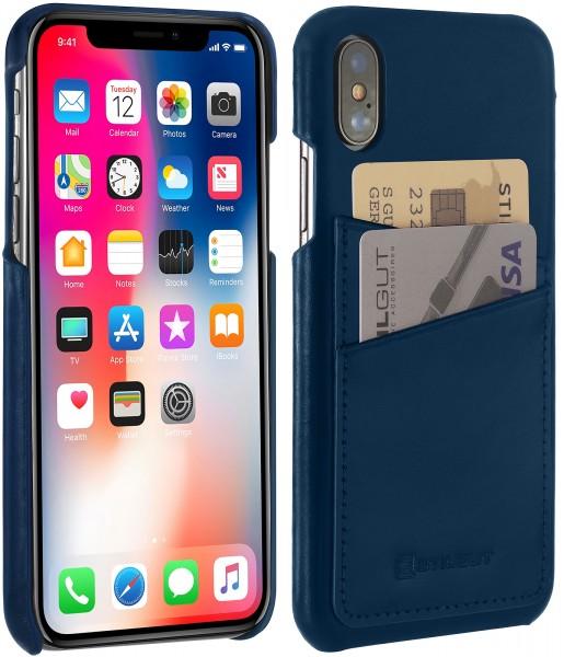 StilGut - iPhone X Case with Card Holder