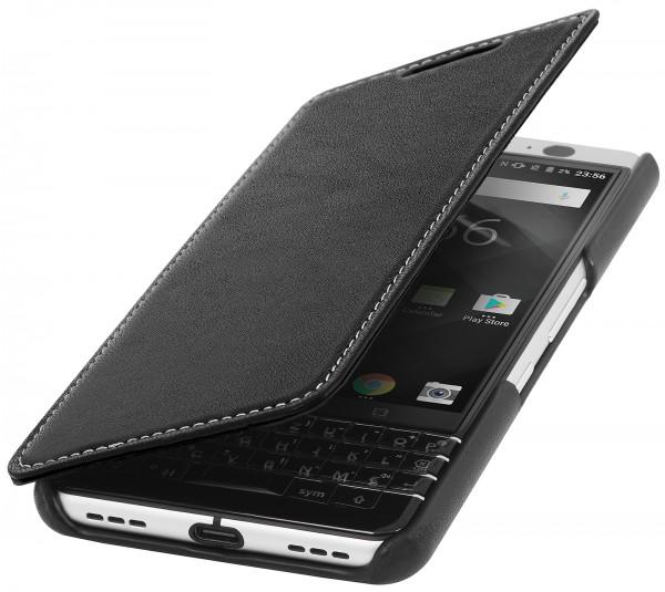 StilGut - BlackBerry KEYone Cover Book Type without Clip