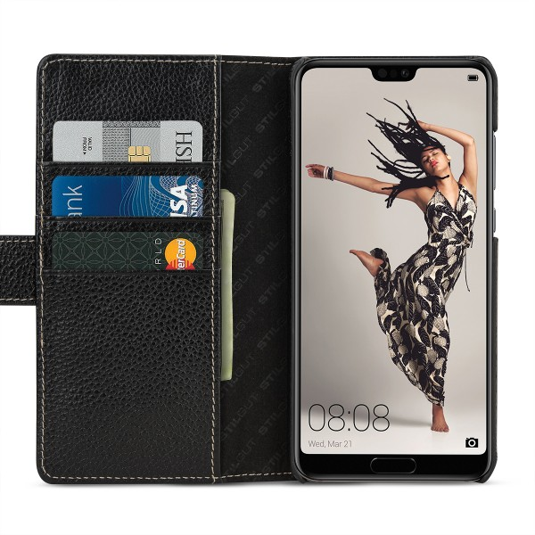 StilGut - Huawei P20 Pro Cover Talis with Card Holder