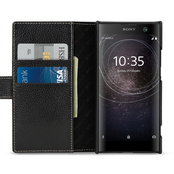 StilGut - Sony Xperia XA2 Cover Talis with Card Holder