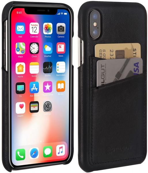 sports shoes 3d385 b479c StilGut - iPhone X Case with Card Holder