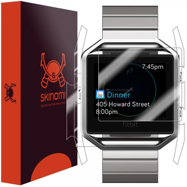 Skinomi - Screen Protector Fitbit Blaze Full Body