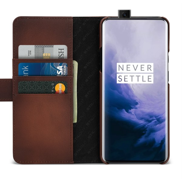 StilGut - OnePlus 7 Pro Cover Talis with Card Holder