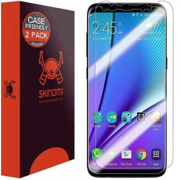 Skinomi - Samsung Galaxy S8+ Screen Protector TechSkin (set of 2)