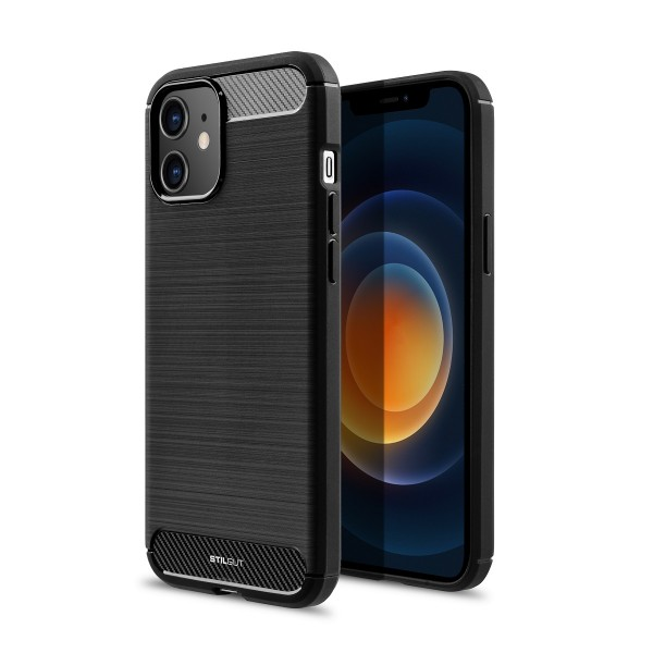 StilGut - iPhone 12 mini TPU Case Carbon