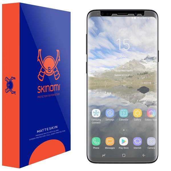 Skinomi - Samsung Galaxy S9+ Screen Protector MatteSkin Maximum Coverage
