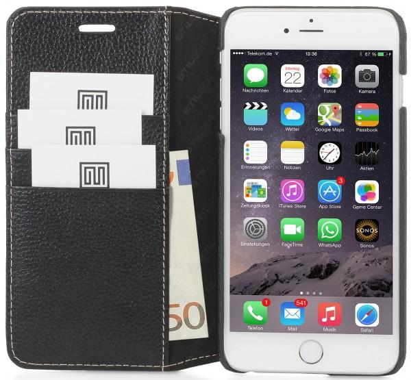 StilGut - iPhone 6s Plus leather cover Talis card holder