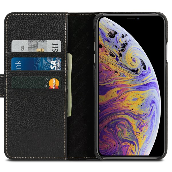 StilGut - iPhone XS Max Cover Talis with Card Holder